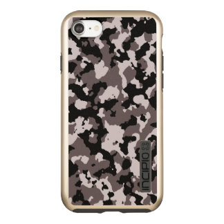 Military Camouflage Pattern | Brown Camo Incipio DualPro Shine iPhone 8/7 Case