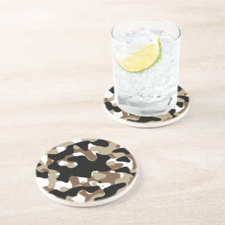 Military Camouflage Pattern Coaster