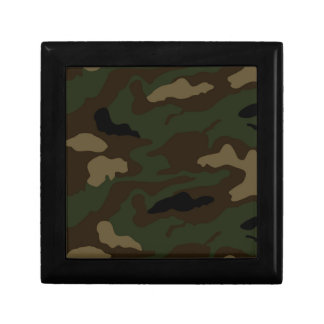 military camouflage pattern gift box