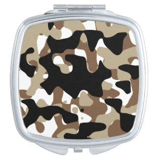 Military Camouflage Pattern Mirror For Makeup