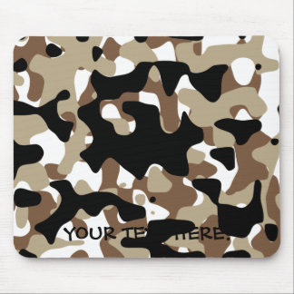 Military Camouflage Pattern Mouse Pad