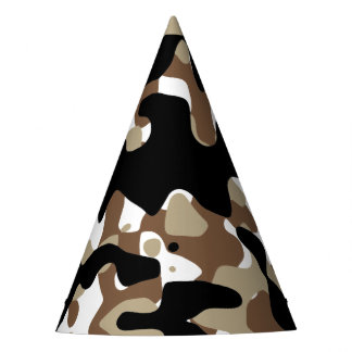 Military Camouflage Pattern Party Hat