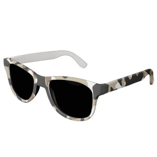 Military Camouflage Pattern Sunglasses