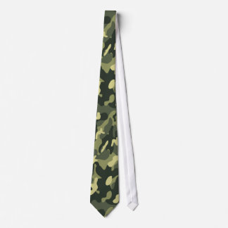 Military Camouflage Pattern Tie