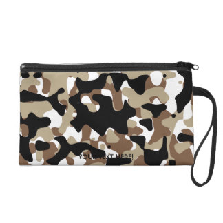Military Camouflage Pattern Wristlet