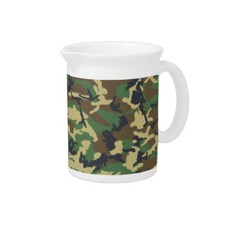 Military Camouflage Pitcher