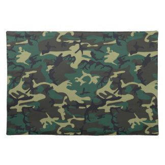 Military Camouflage Place Mats