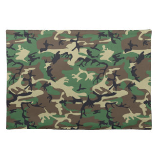 Military Camouflage Placemats