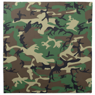 Military Camouflage Printed Napkin