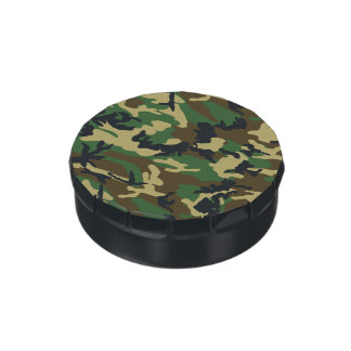 Military Camouflage Jelly Belly Tin