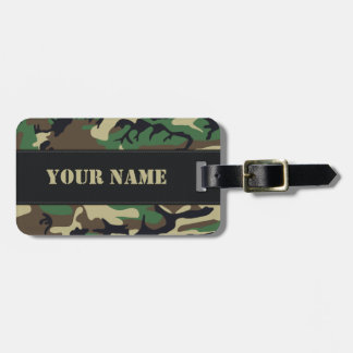 Military Camouflage Tags For Bags