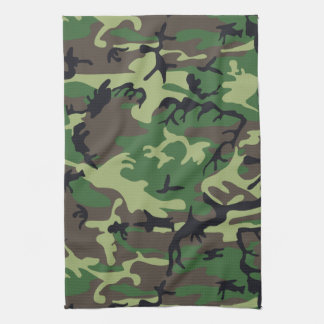 Military Camouflage Kitchen Towels