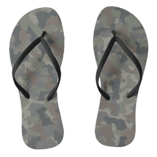 Military Camouflage Thongs