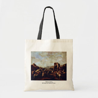 Military Camp By Rugendas Georg Philipp Canvas Bags