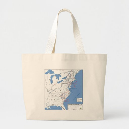 Military Campaigns of the American Revolution Bag