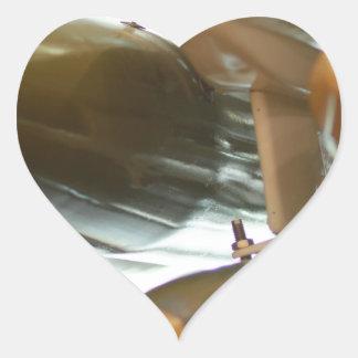 Military Cargo Heart Sticker