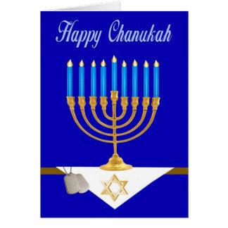 Military Chanukkah Card