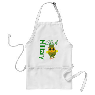 Military Chick Apron