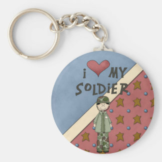 Military Collection Army Soldier Man Keychain