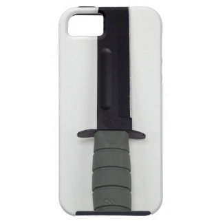 military combat knife vertical  ka-bar style tough iPhone 5 case