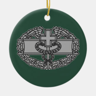 Military Combat Medical Badge Christmas Tree Ornaments
