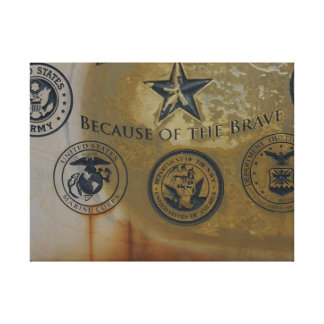 Military Departments Stretched Canvas Prints