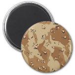 Military Desert Camouflage Background Fridge Magnet