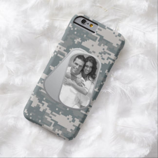 Military Dog Tags and Army ACUs Pattern Barely There iPhone 6 Case