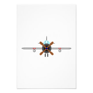 Military Fighter Airplane Personalized Announcement