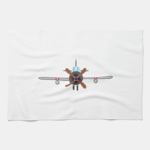 Military Fighter Airplane Kitchen Towels