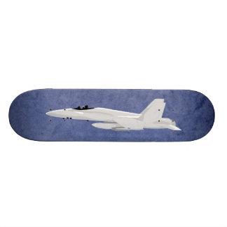 Military Fighter Jet F-18 Superhornet Skate Deck
