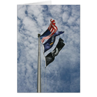 Military Flags Greeting Card