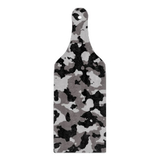 Military Gray Camouflage Pattern Cutting Boards