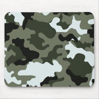 Military Green Camo Mousepad