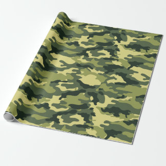 Military Green Camouflage Camo Pattern