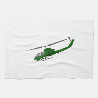 Military Helicopter Towel