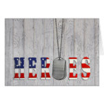 Military Heroes Card