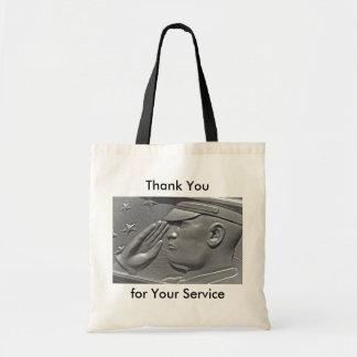 Military Honors Veteran Hero Tote Bags