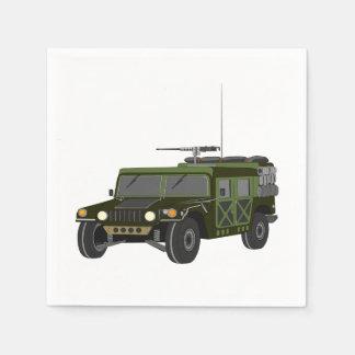 Military Hummer Paper Napkins