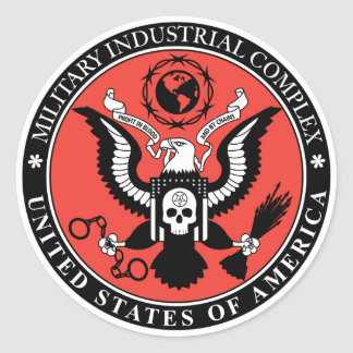 Military Industrial Complex Sticker