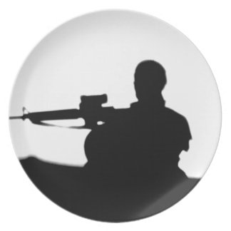 Military Infantry Party Plate