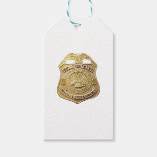 Military Intelligence Gift Tags