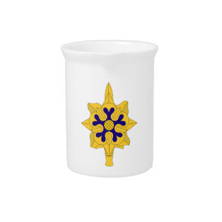 Military Intelligence Insignia Pitcher