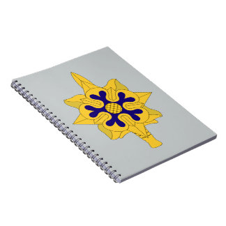 Military Intelligence Insignia Spiral Notebook
