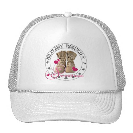 Military Issued Sweetheart Trucker Hats