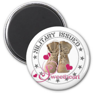 Military Issued Sweetheart Refrigerator Magnet