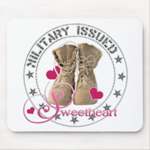 Military Issued Sweetheart Mousepads