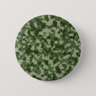 Military Jungle Green Camouflage 6 Cm Round Badge
