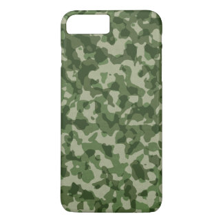 Military Jungle Green Camouflage iPhone 8 Plus/7 Plus Case