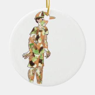Military Kid Ornament